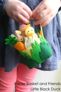 Easter Basket and Friends for Sew Mama Sew