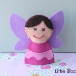 Fairy Finger Puppet Pattern