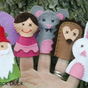Woodland Friends Finger Puppets