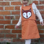 Fox Pocket on Orange Dress