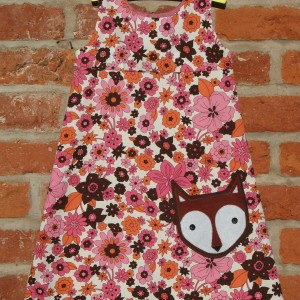 Fox Pocket on Floral Dress