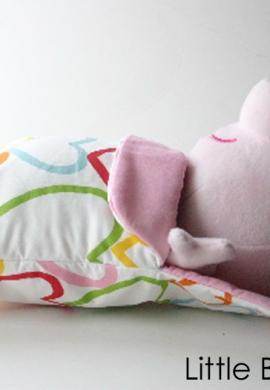 Peppa in Sleeping Bag