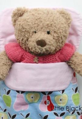 Teddy in Sleeping Bag
