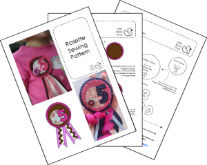 Rosette Sample Pattern Pages