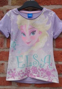 Elsa t-shirt from Tesco