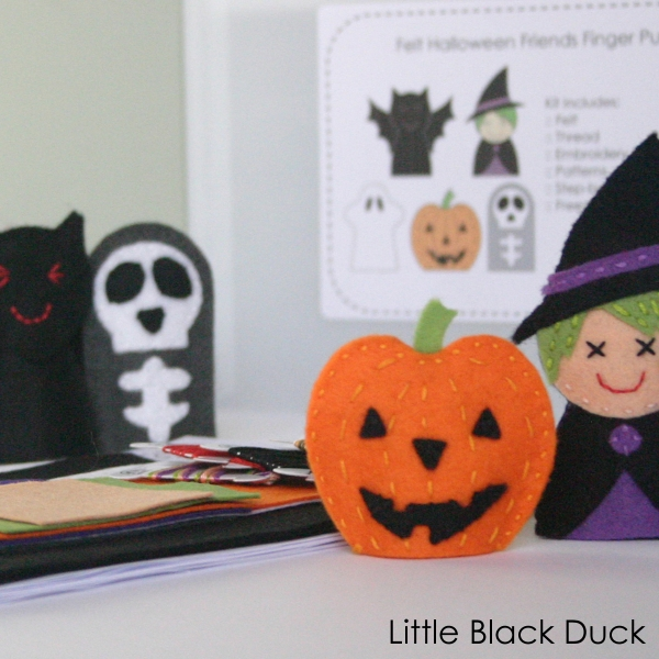 Halloween Friends Sewing Kit