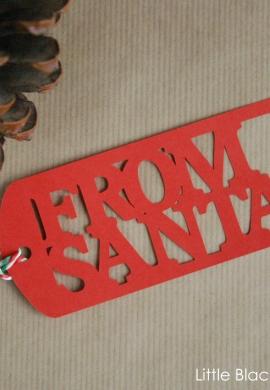 From Santa Gift Tags