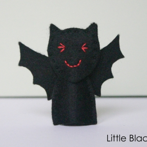 Bat Finger Puppet Pattern