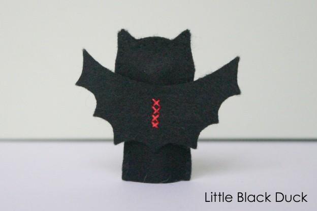 Bat Finger Puppet Sewing Pattern