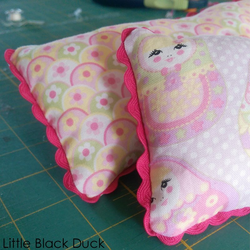 Mini Pillows all done