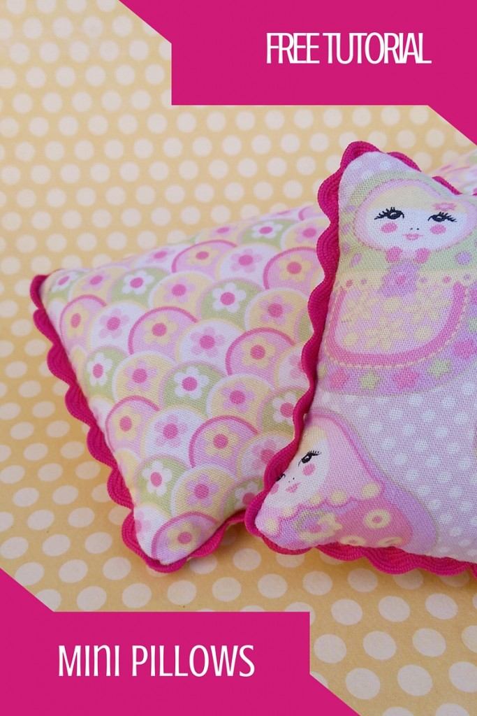 Mini Pillows Free Tutorial