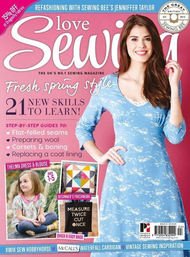 Love Sewing Issue 24 Front Cover