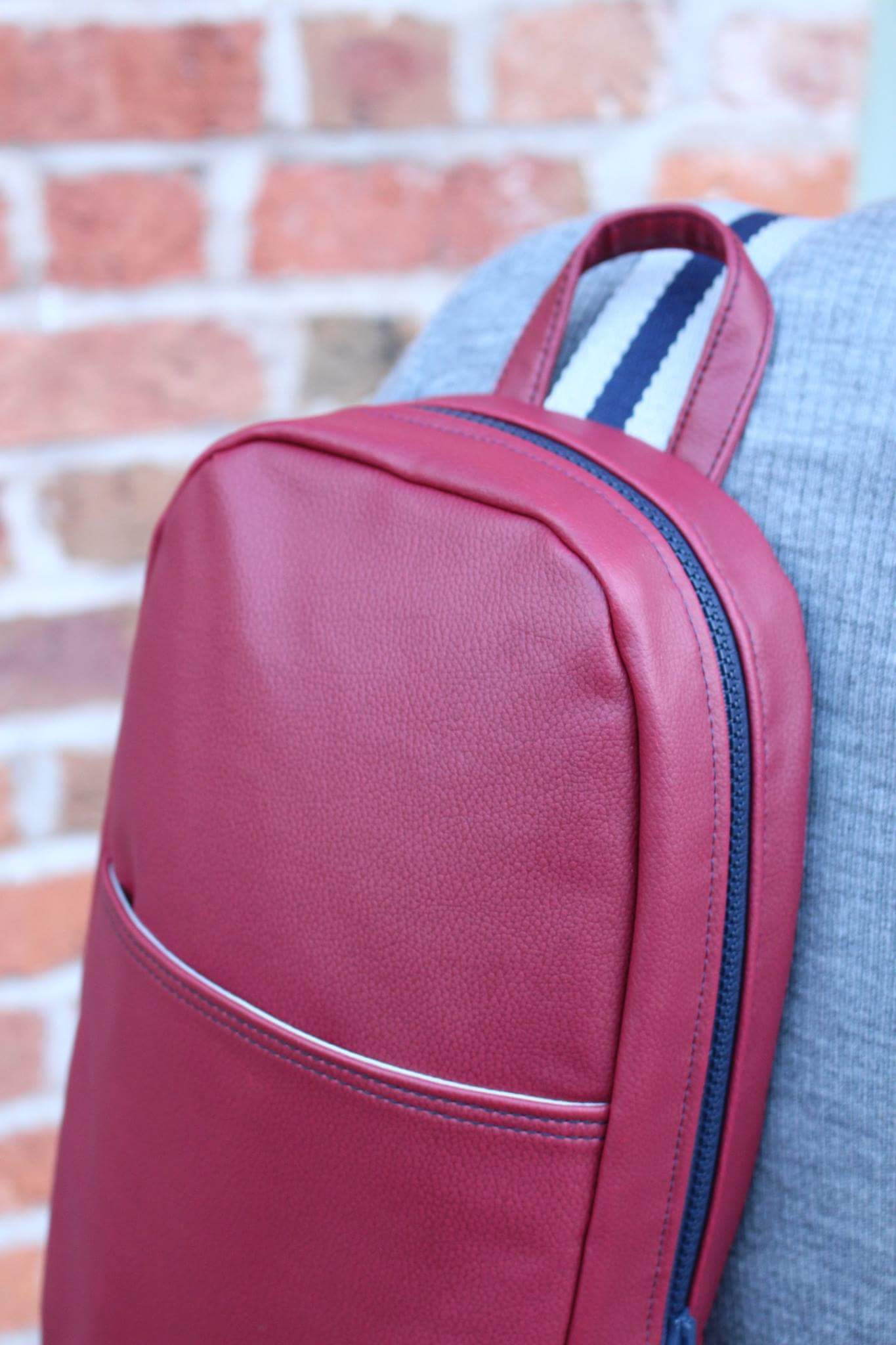 Cross Body Rucksack Detail
