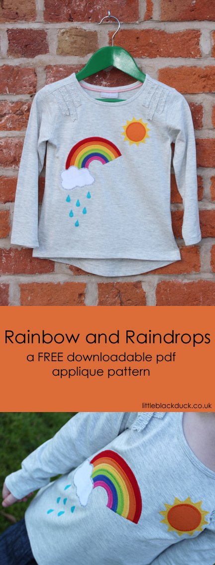 Rainbow Applique FREE download