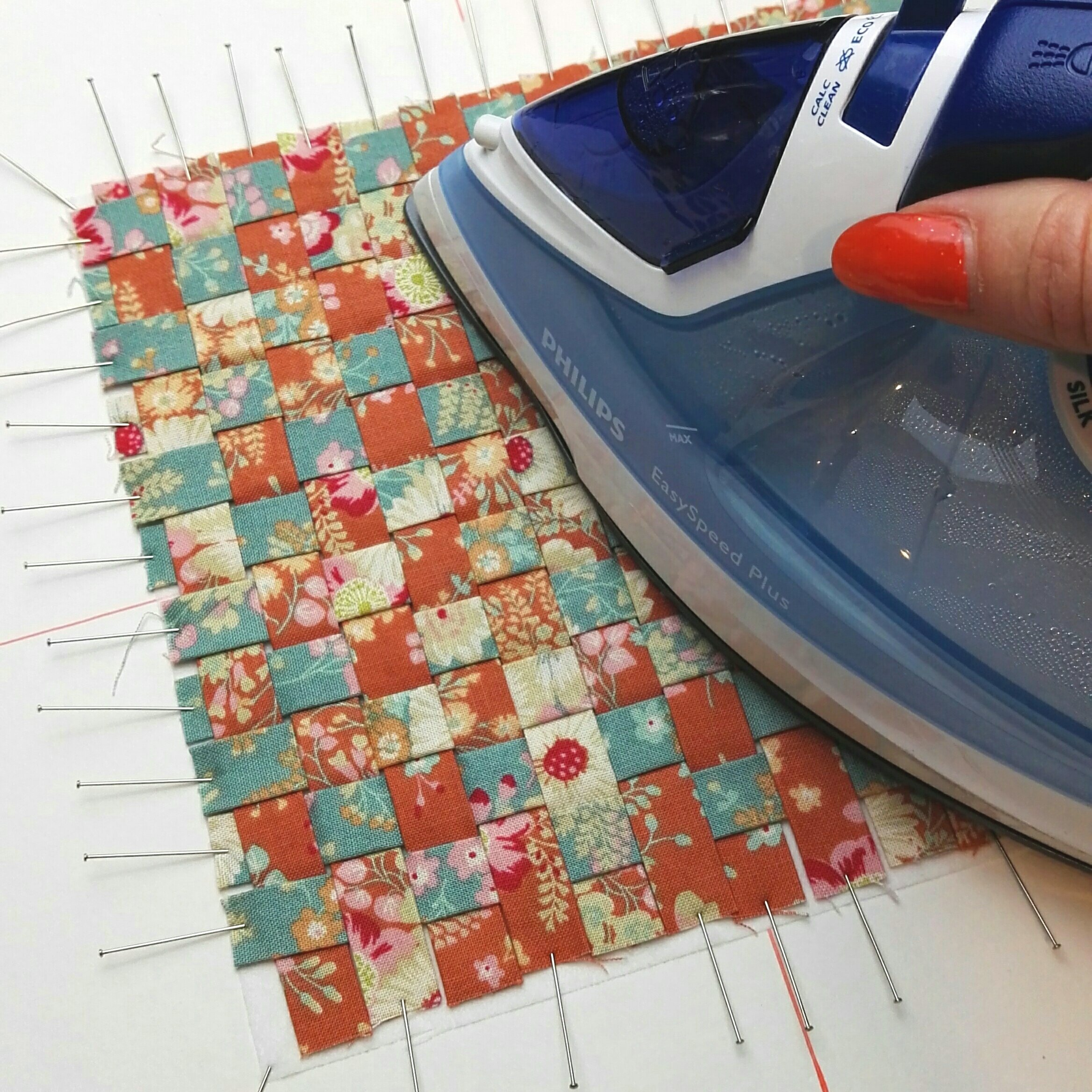 iron weave to interfacing