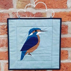 kingfisher fpp mini quilt
