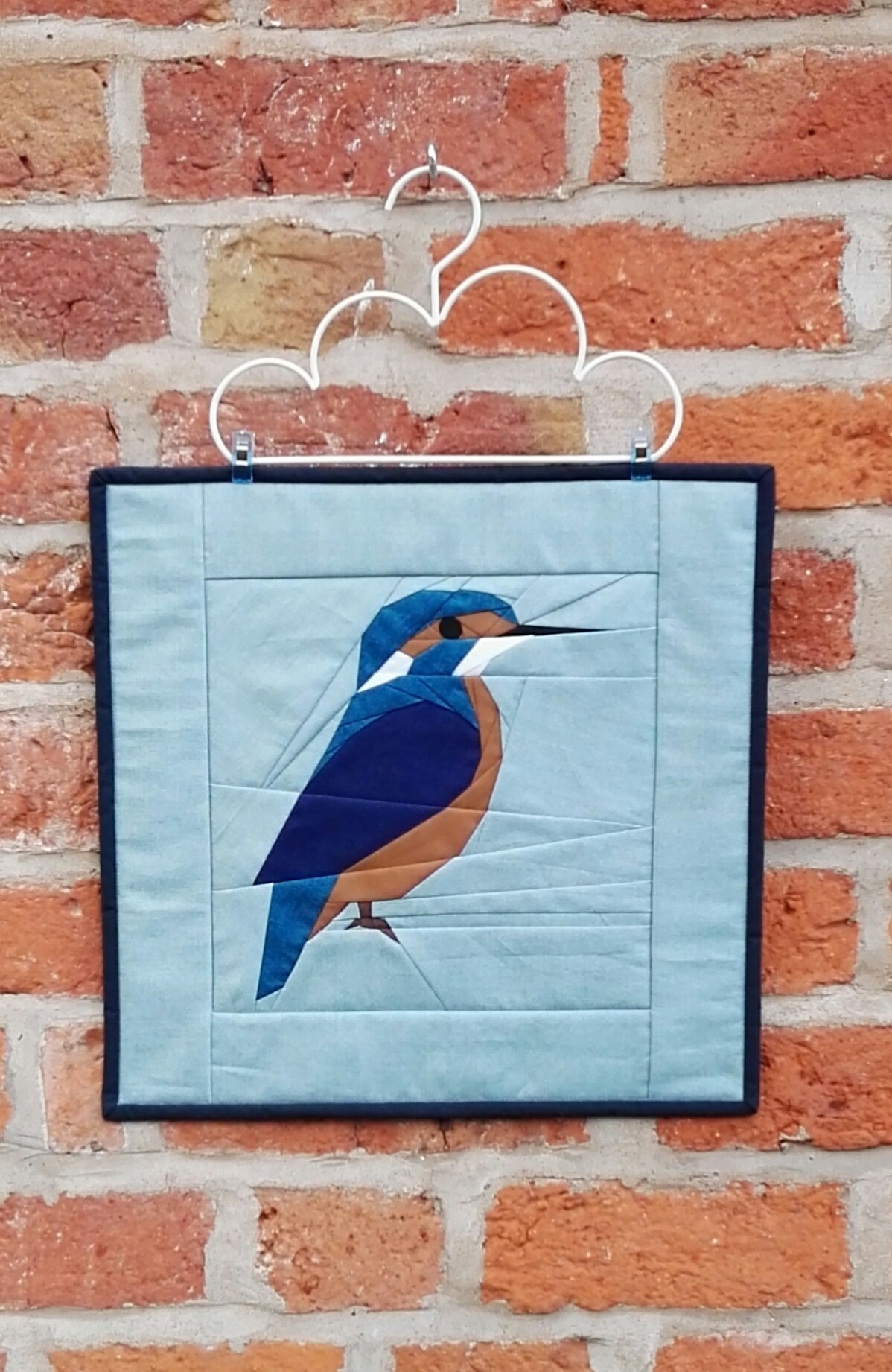 kingfisher fpp mini quilt
