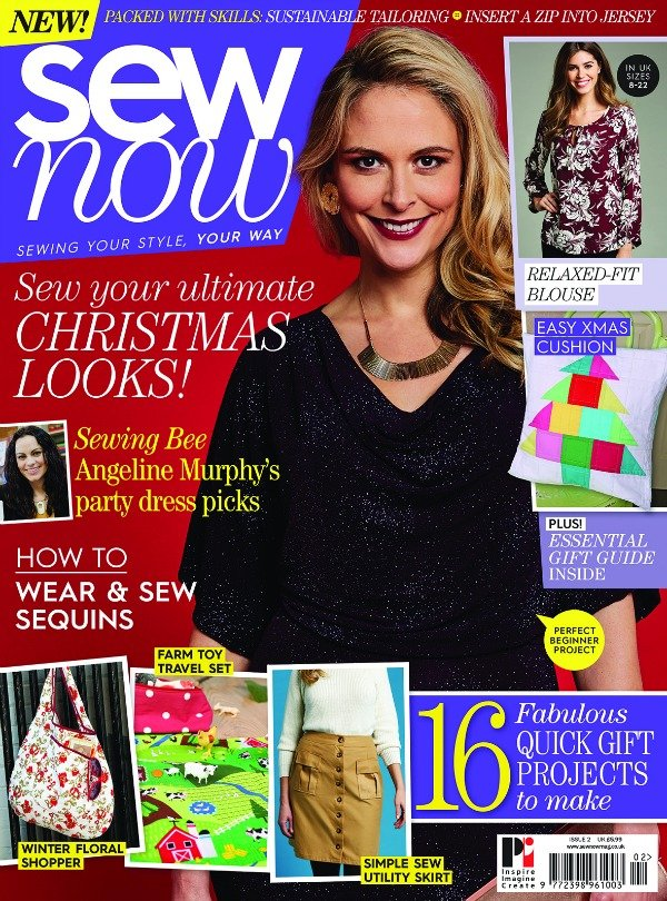 Sew Now Magazine Issue 2 Front Cover