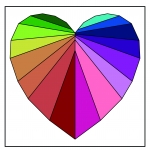 Facets of the Heart FPP pdf Pattern