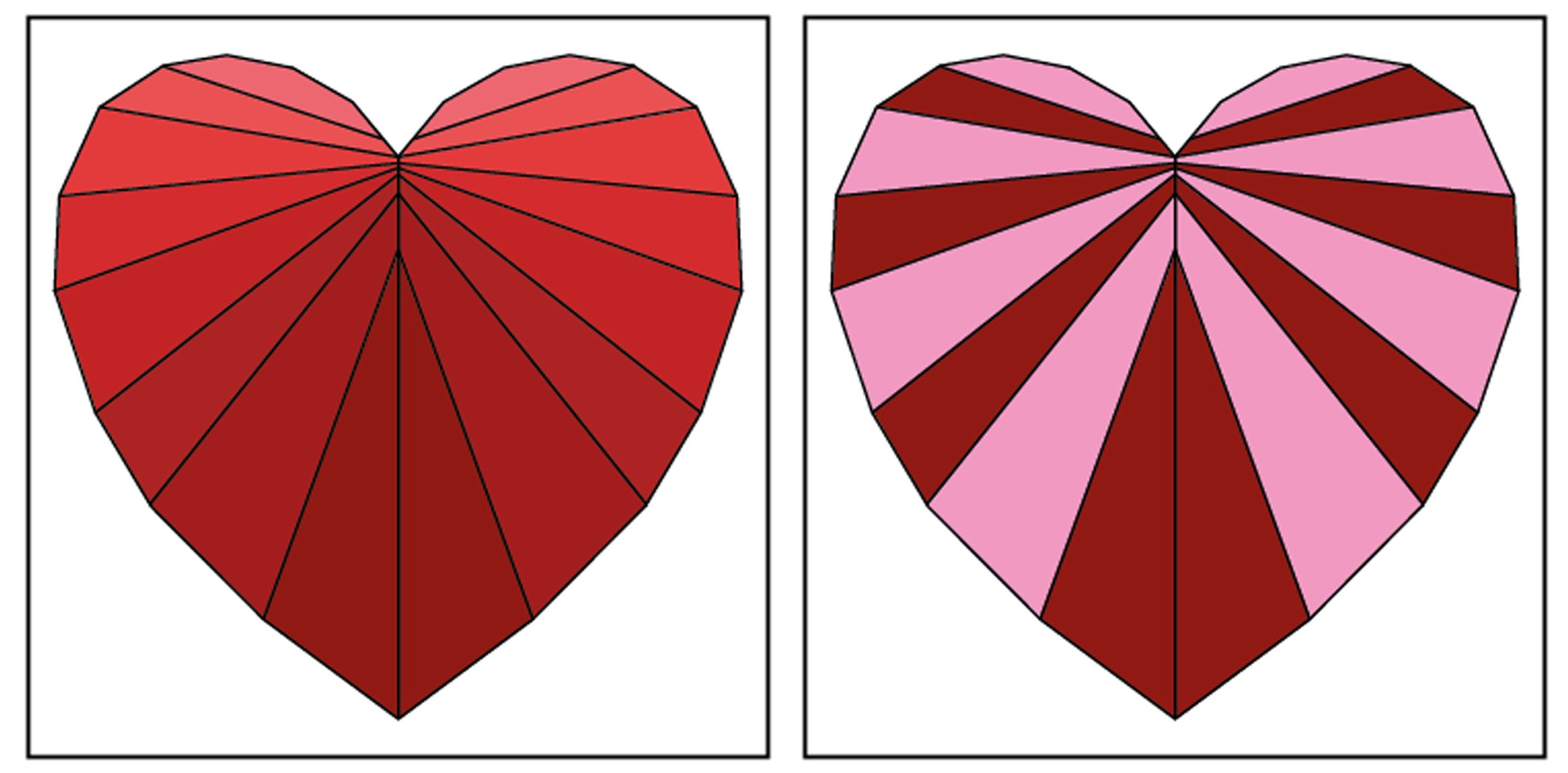 Facets of the Heart FPP Colour Suggestions