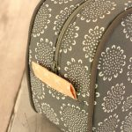 Oval Wash Bag Piping Detail