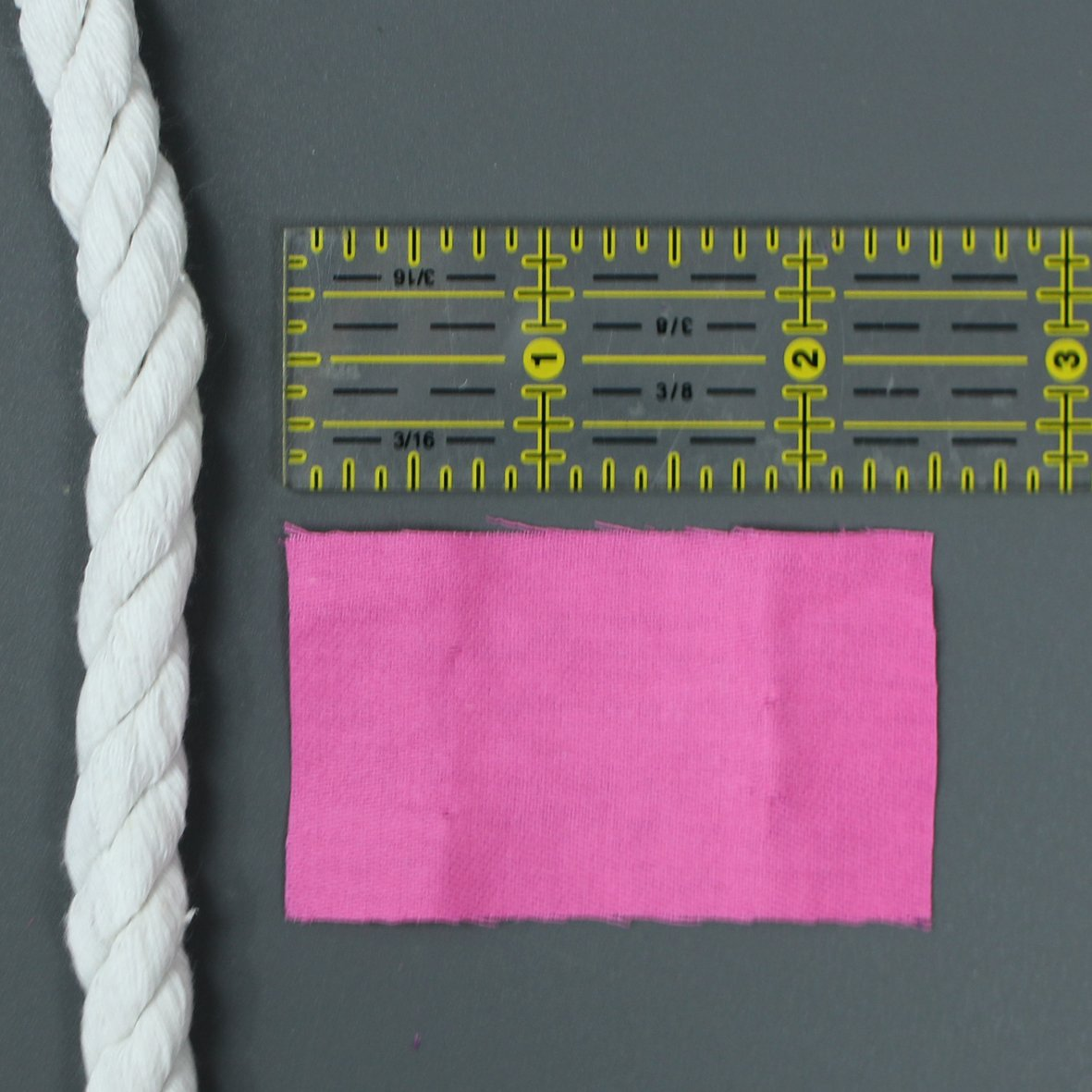 Measure the Fabric Strip