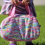 Pebble Wash Bag with Handles by Elizabeth Holt