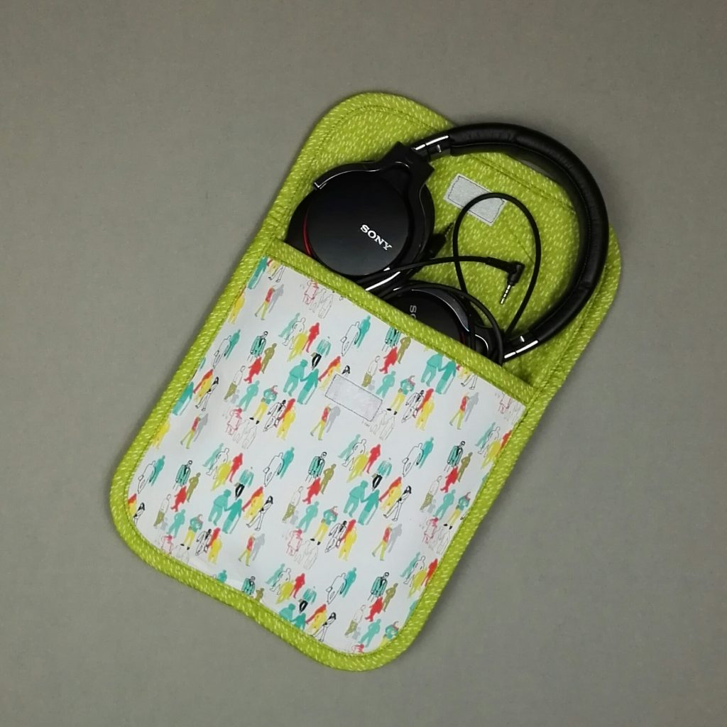 Headphone Case for Sewing Quarter
