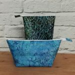 Batik Wash Bags for the Sewing Quarter