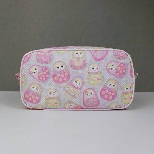 Pink Pebble Wash Bag