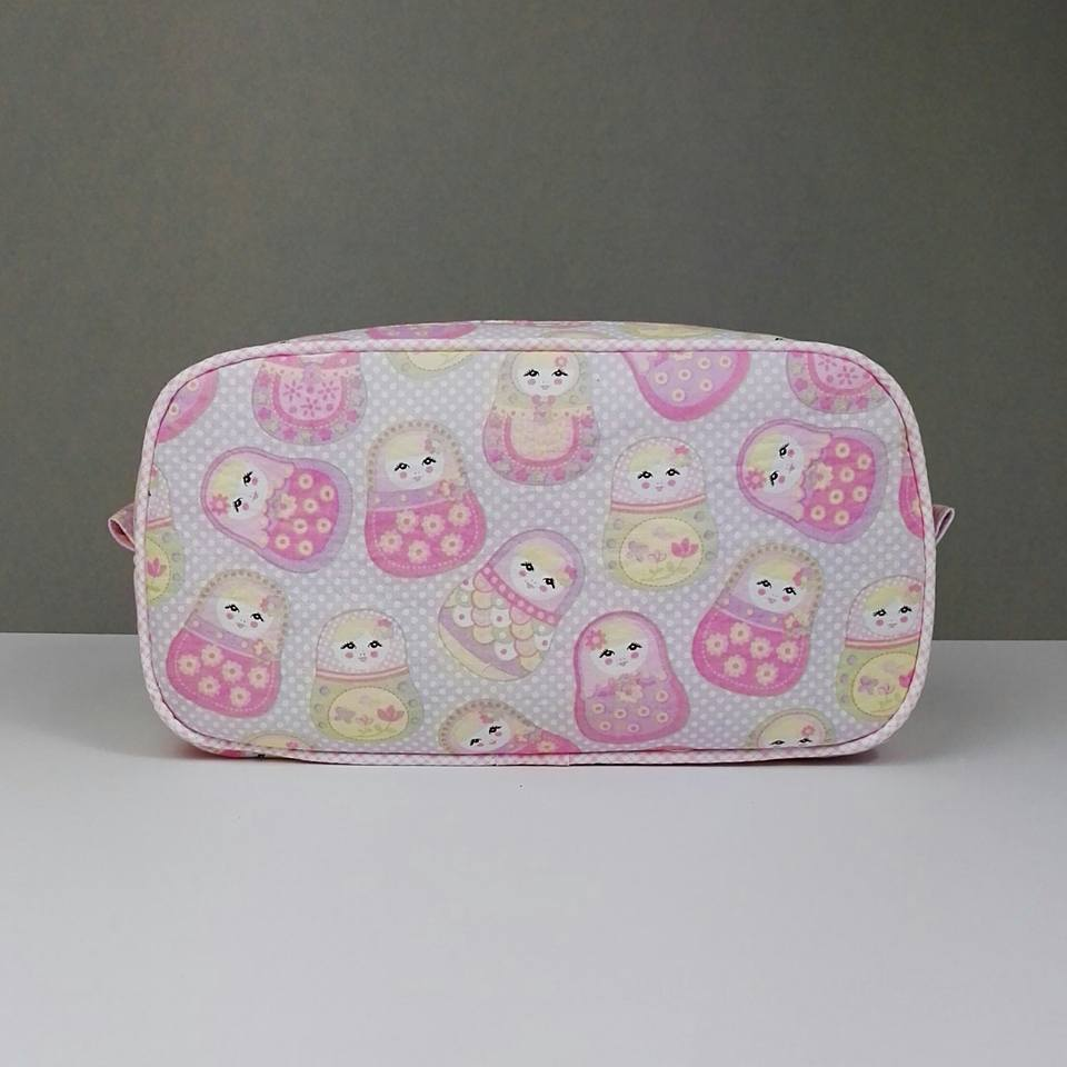 Pink Pebble Wash Bag