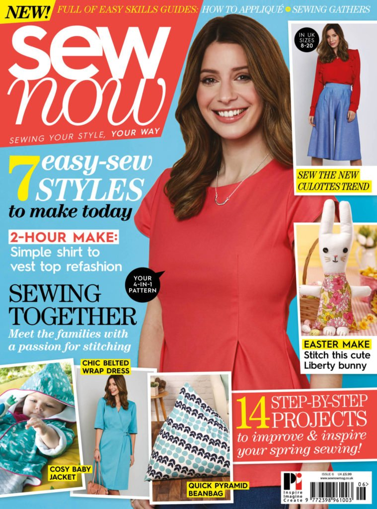 Sew Now issue 6 Front Cover