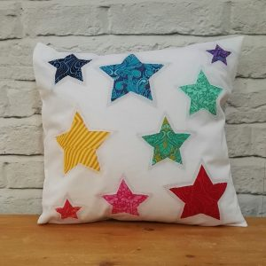 Reverse Applique Cushion