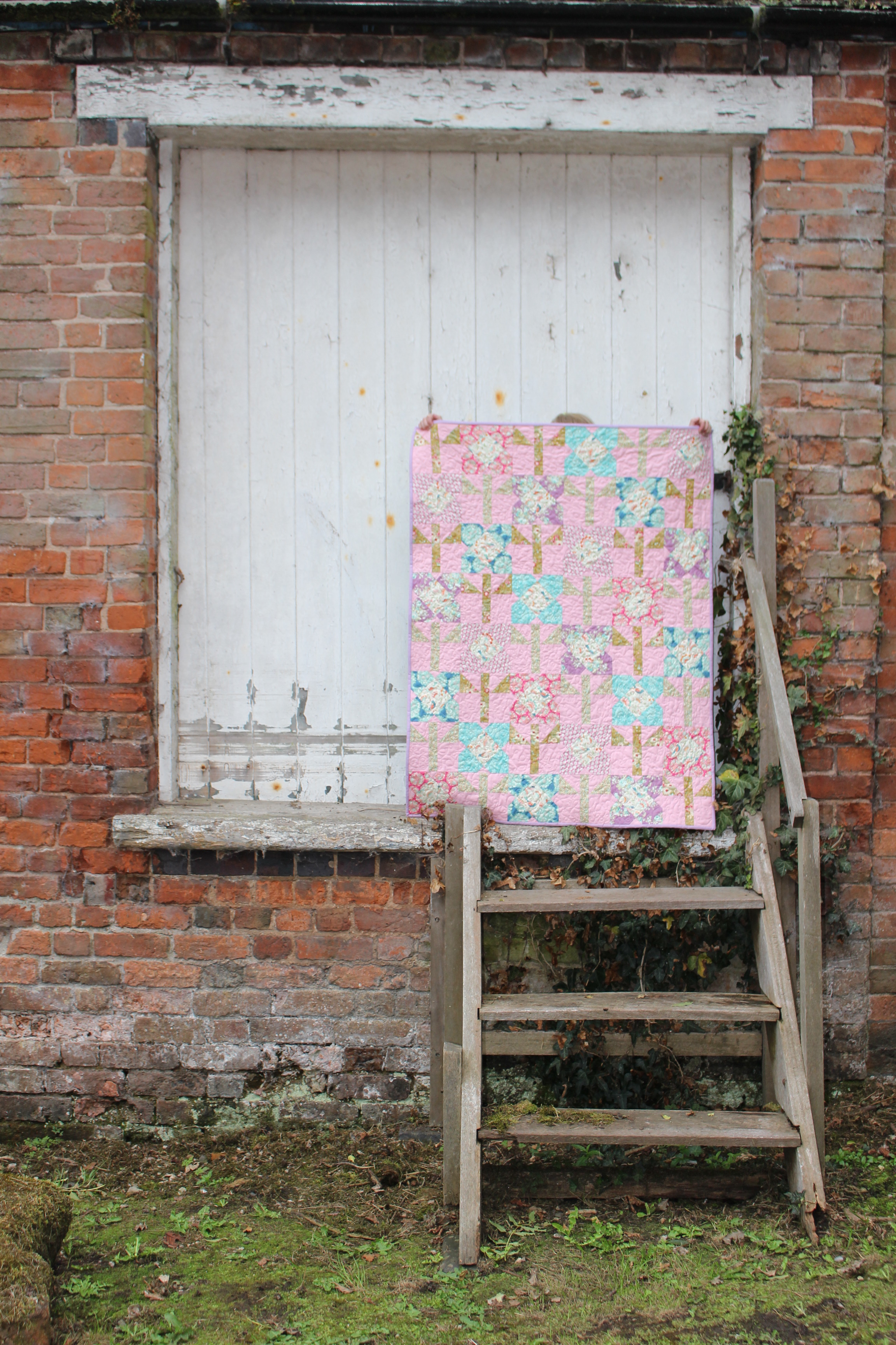Sewing by Heart Flower Quilt