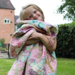 Tilda Harvest Flower Quilt with Emily