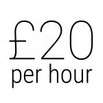 £20 per hour