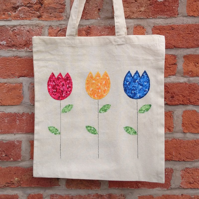 Machine Applique Tote Bag