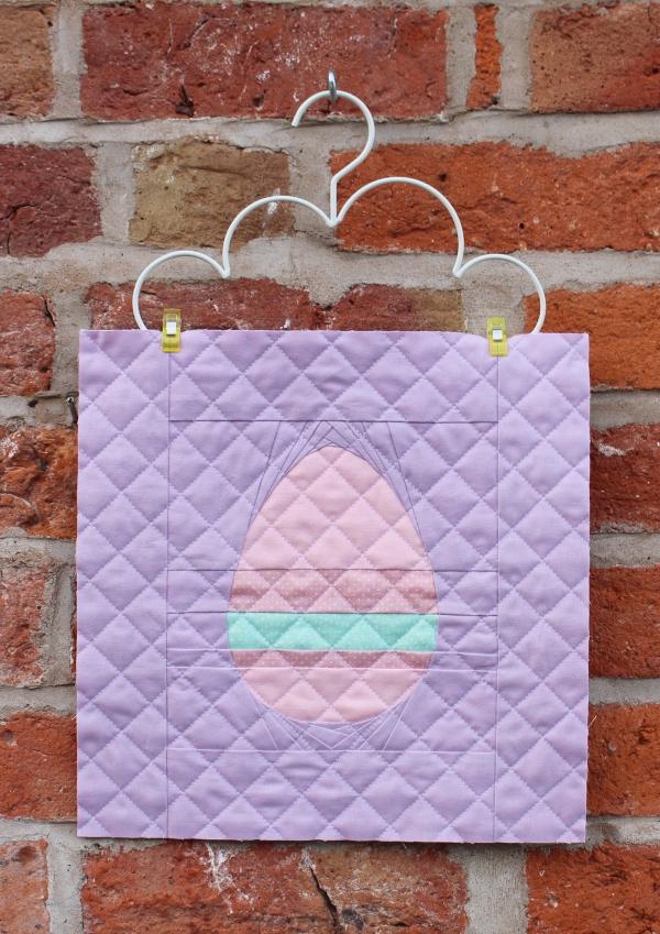 Striped Easter Egg FPP Mini wip