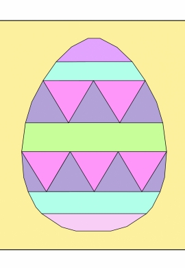 Fancy Easter Egg FPP pdf pattern