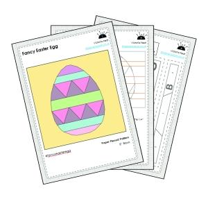 Fancy Easter Egg Sample Pages