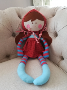 Little Red Riding Hood from Lovely Little Patchwork