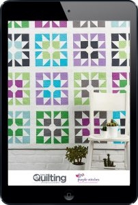 March wallpaper from Love Patchwork and Quilting