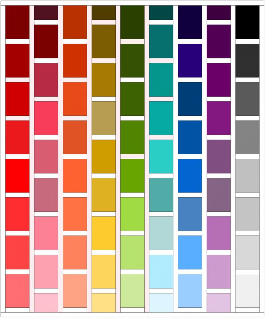 Rainbow Brick Quilt