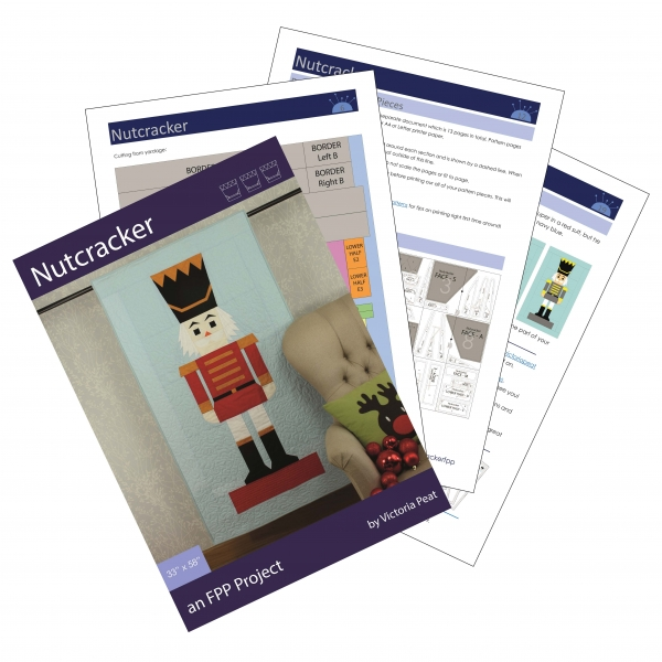 Sample pages of Nutcracker pdf pattern