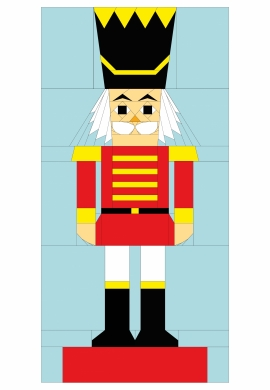 Nutcracker Outline Drawing