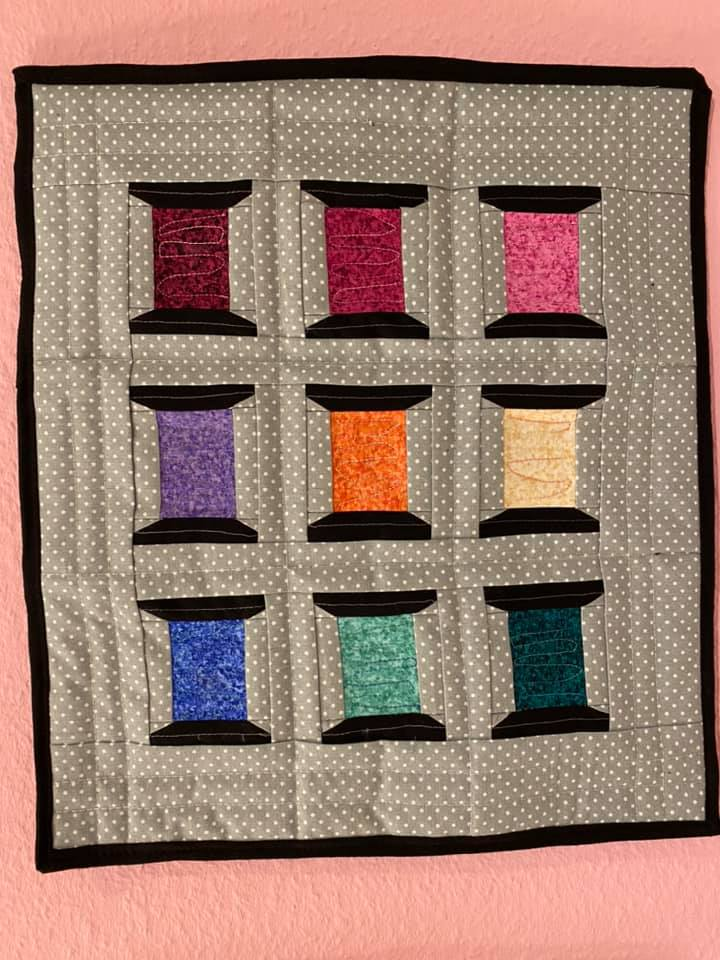 Britt Weber Toudahl Spools of Thread