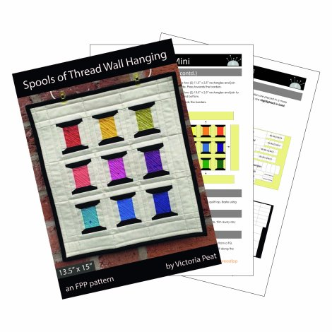 Spools of Thread sample pages