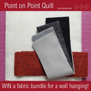 Win Fabric for a Point on Point Wall Hanging