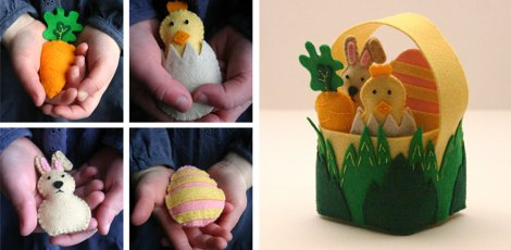 Easter Friends Collage