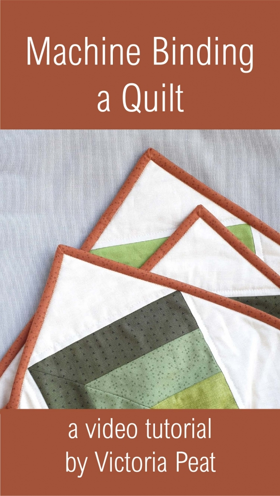 Machine Binding a Quilt Video_Machine Binding Video Tutorial